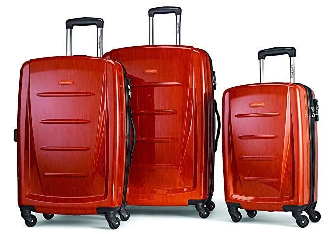 "<p>You'll always know which luggage is yours if you pick up this <a href=""https://www.popsugar.com/buy/Samsonite%20Winfield%202%20Hardside%20Luggage%20with%20Spinner%20Wheels-468395?p_name=Samsonite%20Winfield%202%20Hardside%20Luggage%20with%20Spinner%20Wheels&retailer=amazon.com&price=321&evar1=savvy%3Aus&evar9=46381037&evar98=https%3A%2F%2Fwww.popsugar.com%2Fsmart-living%2Fphoto-gallery%2F46381037%2Fimage%2F46381038%2FSamsonite-Winfield-2-Hardside-Luggage-Spinner-Wheels&list1=shopping%2Ctravel%2Camazon%2Cluggage%2Csale%2Csuitcases%2Camazon%20prime%2Csale%20shopping%2Camazon%20prime%20day&prop13=api&pdata=1"" rel=""nofollow"" data-shoppable-link=""1"" target=""_blank"" class=""ga-track"" data-ga-category=""Related"" data-ga-label=""https://www.amazon.com/dp/B00EALLQ8A/ref=twister_B07PH4RRCD?_encoding=UTF8&amp;th=1"" data-ga-action=""In-Line Links"">Samsonite Winfield 2 Hardside Luggage with Spinner Wheels</a> ($321, originally $570).</p>"