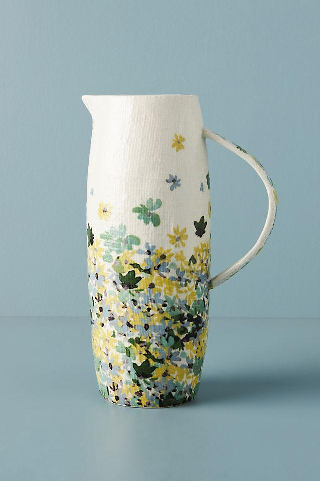 """<h2>Anthropologie Appoline Pitcher</h2><br>In April, we came up with the theory that <a href=""""https://www.refinery29.com/en-us/flower-pitchers"""" rel=""""nofollow noopener"""" target=""""_blank"""" data-ylk=""""slk:moms are really into pitchers"""" class=""""link rapid-noclick-resp"""">moms are really into pitchers</a> — specifically ones of the floral variety. And, after including this really pretty one from Anthropologie in a few <a href=""""https://www.refinery29.com/en-us/best-mothers-day-gifts"""" rel=""""nofollow noopener"""" target=""""_blank"""" data-ylk=""""slk:Mother's Day gifting"""" class=""""link rapid-noclick-resp"""">Mother's Day gifting</a> stories on-site, the most wanted musing turned into top-bought facts.<br><br><em>Shop <strong><a href=""""https://www.anthropologie.com/shop/appoline-pitcher2"""" rel=""""nofollow noopener"""" target=""""_blank"""" data-ylk=""""slk:Anthropologie"""" class=""""link rapid-noclick-resp"""">Anthropologie</a></strong></em><br><br><strong>Anthropologie</strong> Appoline Pitcher, $, available at <a href=""""https://go.skimresources.com/?id=30283X879131&url=https%3A%2F%2Fwww.anthropologie.com%2Fshop%2Fappoline-pitcher2"""" rel=""""nofollow noopener"""" target=""""_blank"""" data-ylk=""""slk:Anthropologie"""" class=""""link rapid-noclick-resp"""">Anthropologie</a>"""