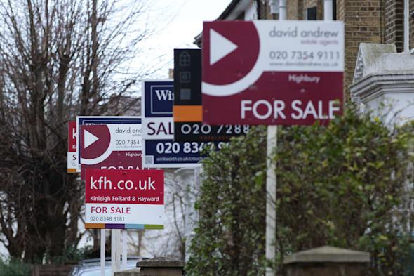 London house price rises 'slowed'