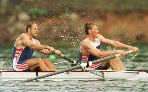 Redgrave and Pinsent at the 1996 Atlanta Olympics - Credit: Pascal Rondeau/Getty Images