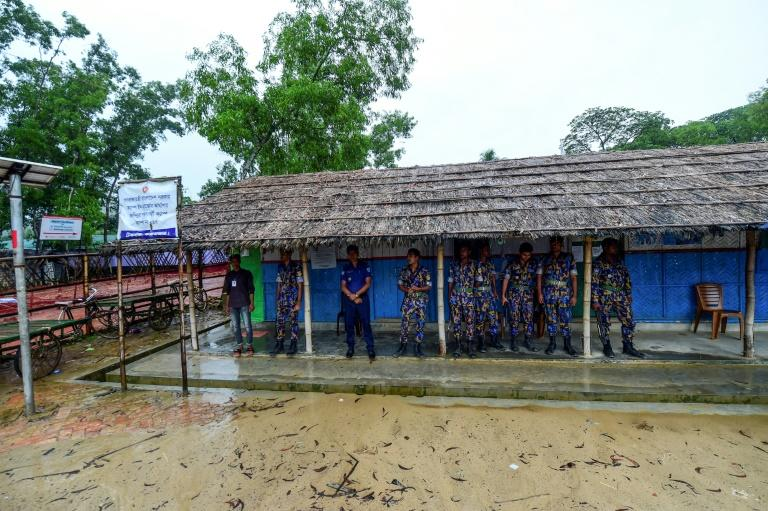 Rohingya refugees have said the recent bloodshed has created an atmosphere of fear in the Jadimura refugee camp, where security has been tightened