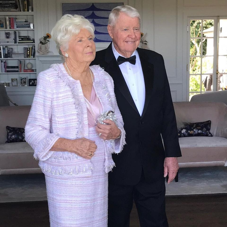 Peter Kerr with wife Ann