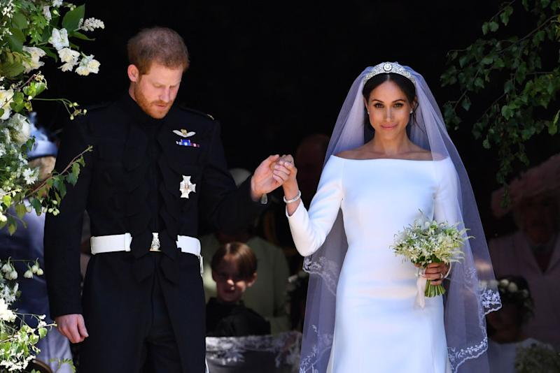 Meghan S Tribute To Diana On Her Wedding Day