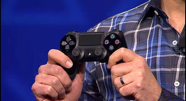 Screengrab of DualShock 4 controller with touchpad via PSU.com livestream
