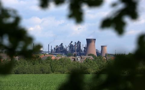 British Steel's Scunthorpe plant - Credit: LINDSEY PARNABY/AFP