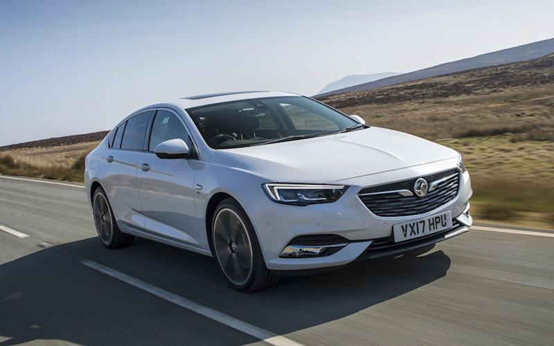 The new Vauxhall Insignia – a good car, but one with very convincing opposition