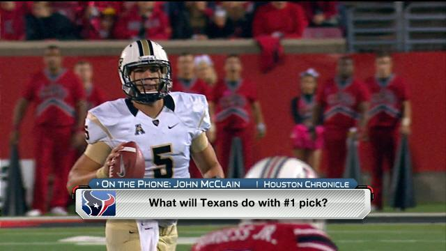 Houston Texans, Matt Cassel have mutual interest … could they pass on QB at No. 1?