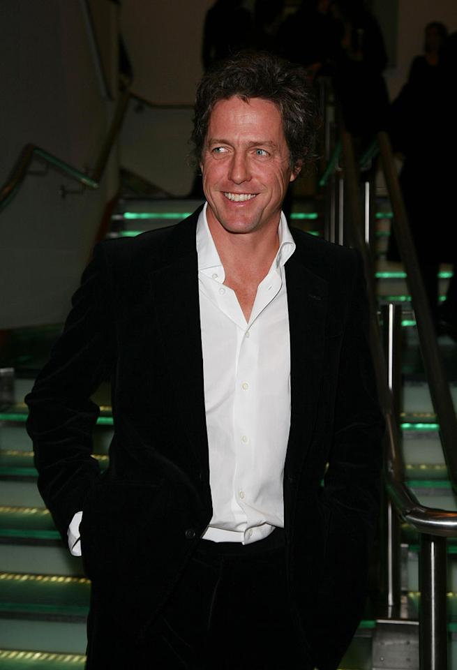 """Hugh Grant at """"The Golden Compass"""" world premiere at the Odeon Leicester Square in London, England. Davidson/<a href=""""http://www.infdaily.com"""" target=""""new"""">INFDaily.com</a> - November 27, 2007"""