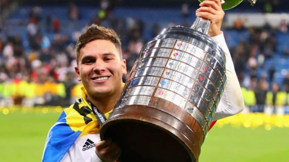 El colombiano con la Copa Libertadores | Chris Brunskill/Fantasista/Getty Images