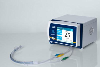 AnapnoGuard AG100s Control Unit and AnapnoGuard Endotracheal Tube Hospitech's AnapnoGuard AG100s Control Unit serves as an integrated, multi-purpose airway management system, highly effective in protecting the lungs and tracheal tissues from infections and tissue injury. The AnapnoGuard Endotracheal Tube (AG ET Tube) provides an advanced solution to well-known complications related to prolonged mechanical ventilation, which prevents potential infections and injury of the trachea and vocal cords.