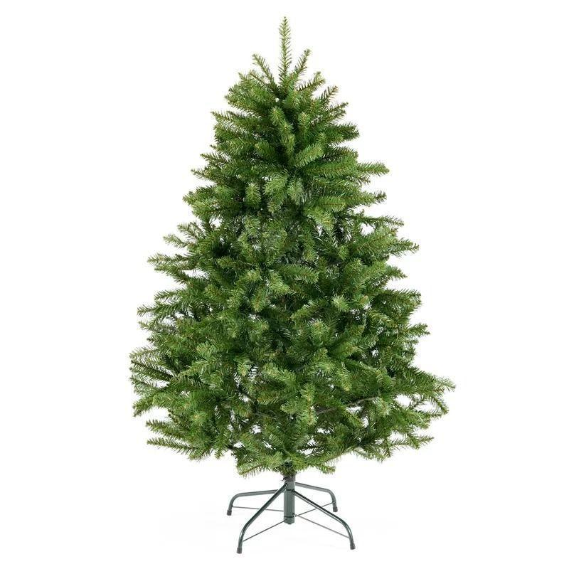"""<p><strong>The Holiday Aisle</strong></p><p>wayfair.com</p><p><strong>$47.90</strong></p><p><a href=""""https://go.redirectingat.com?id=74968X1596630&url=https%3A%2F%2Fwww.wayfair.com%2Fholiday-decor%2Fpdp%2Fthe-holiday-aisle-green-spruce-artificial-christmas-tree-w001117759.html&sref=https%3A%2F%2Fwww.bestproducts.com%2Fhome%2Fdecor%2Fg334%2Fbest-artificial-christmas-trees%2F"""" rel=""""nofollow noopener"""" target=""""_blank"""" data-ylk=""""slk:Shop Now"""" class=""""link rapid-noclick-resp"""">Shop Now</a></p><p>This pick is incredibly authentic-looking, and its tufted, bare branches give you full creative control. If your family has an overflowing ornament collection, this is the artificial Christmas tree for you — users tout its numerous durable branches as being a major plus. It's available in 4.5, 7-, 7.5-, and 9-foot heights, and it comes unlit for optimal customization potential.</p>"""