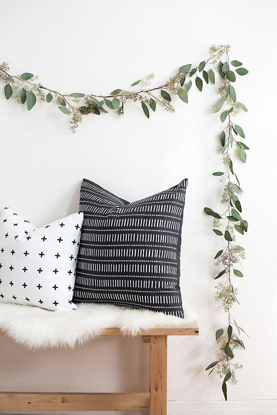 """<p>This delicate floral garland looks just as appropriate on Christmas morning as it does at a summer wedding. </p><p><a href=""""https://www.homeyohmy.com/diy-seeded-eucalyptus-garland/"""" rel=""""nofollow noopener"""" target=""""_blank"""" data-ylk=""""slk:Get the tutorial."""" class=""""link rapid-noclick-resp"""">Get the tutorial.</a></p><p><a class=""""link rapid-noclick-resp"""" href=""""https://www.amazon.com/gonicc-Professional-GPPS-1012-Satisfaction-Guarantee/dp/B07RPFML4S/?tag=syn-yahoo-20&ascsubtag=%5Bartid%7C10072.g.37499128%5Bsrc%7Cyahoo-us"""" rel=""""nofollow noopener"""" target=""""_blank"""" data-ylk=""""slk:SHOP FLORAL SHEARS"""">SHOP FLORAL SHEARS</a></p>"""