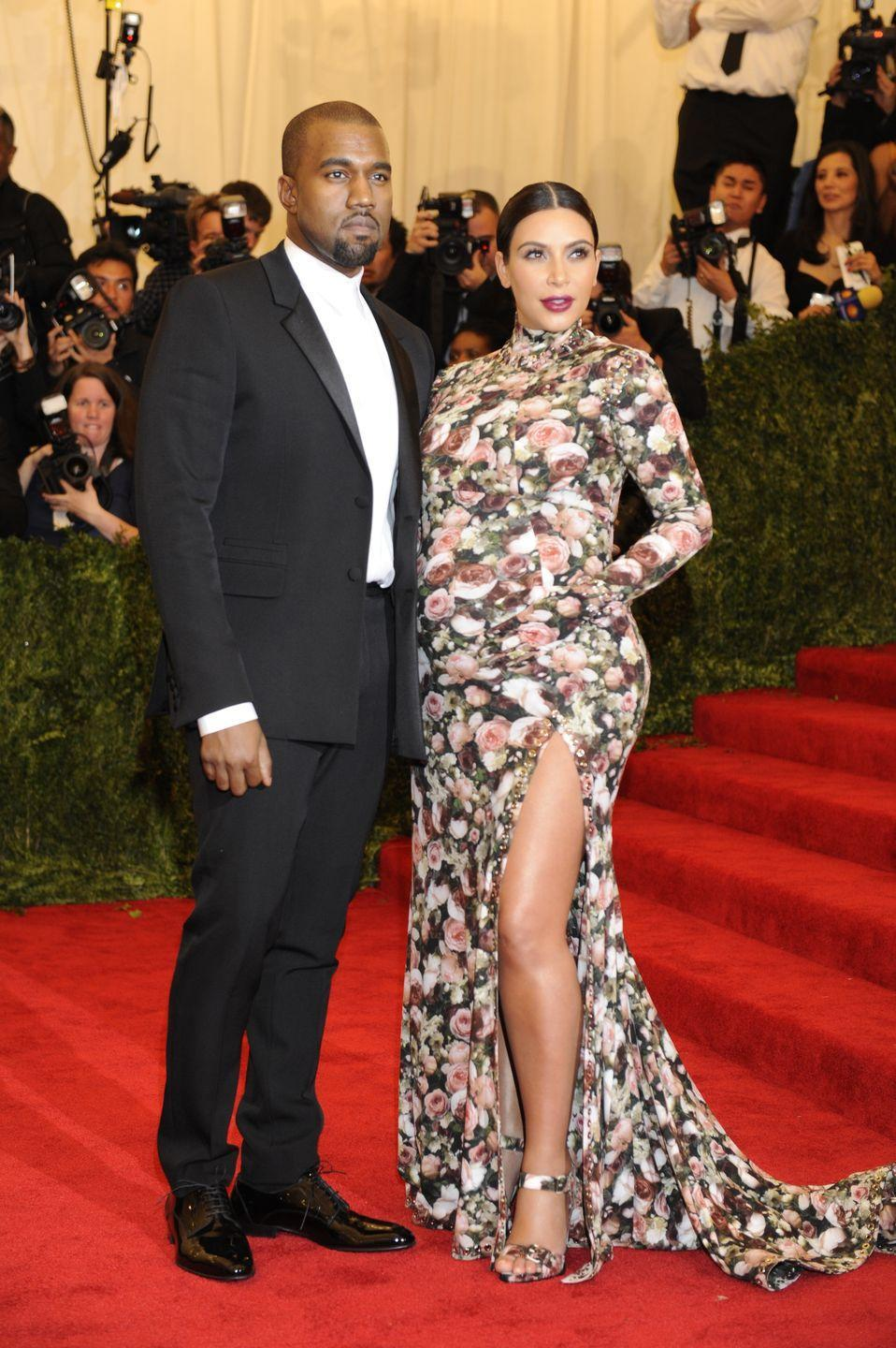 """<p>When Kim Kardashian attended the Met Gala for the first time in 2013, she wore a stretchy floral dress made by Givenchy. Pretty quickly, <a href=""""https://www.buzzfeed.com/stephenlaconte/kim-kardashian-tells-met-gala-couch-dress-story-vogue"""" rel=""""nofollow noopener"""" target=""""_blank"""" data-ylk=""""slk:social media lit up with people criticizing Kardashian's look"""" class=""""link rapid-noclick-resp"""">social media lit up with people criticizing Kardashian's look</a> and comparing her dress to a couch. <a href=""""https://www.businessinsider.com/robin-williams-tweets-about-kim-kardashians-dress-2013-5"""" rel=""""nofollow noopener"""" target=""""_blank"""" data-ylk=""""slk:Robin Williams"""" class=""""link rapid-noclick-resp"""">Robin Williams</a> even joined in with a Mrs. Doubtfire joke. Kim <a href=""""https://www.youtube.com/watch?v=8Knj8-MKFn8&feature=emb_imp_woyt"""" rel=""""nofollow noopener"""" target=""""_blank"""" data-ylk=""""slk:later said in an interview"""" class=""""link rapid-noclick-resp"""">later said in an interview</a>, """"I was crying the whole way home. Because I just couldn't believe it. There were all these memes about me and this couch."""" </p>"""
