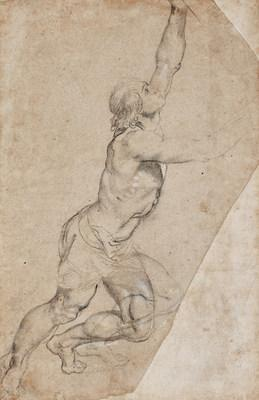 Sotheby's 2019 Masters Week auction in New York reached $100 million for the first time since 2011, with half of all lots sold achieving prices above expectations. Among the many highlights was Sir Peter Paul Rubens'' Nude Study of Young Man with Raised Arms' – one of the most important drawings by the iconic artist to appear on the open market in over 50 years – which sold for $8.2 million after intense competition between two bidders.