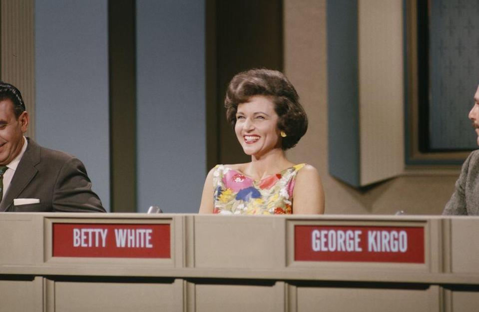 <p>In the early 1960s, White spent a lot of time on network game shows, making appearances on <em>Password</em> several times, as well as <em>What's My Line?, To Tell The Truth, I've Got A Secret, Match Game, </em>and <em>Pyramid</em>. </p>