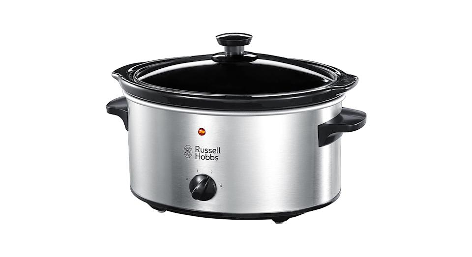 This popular slow cooker is dishwasher safe