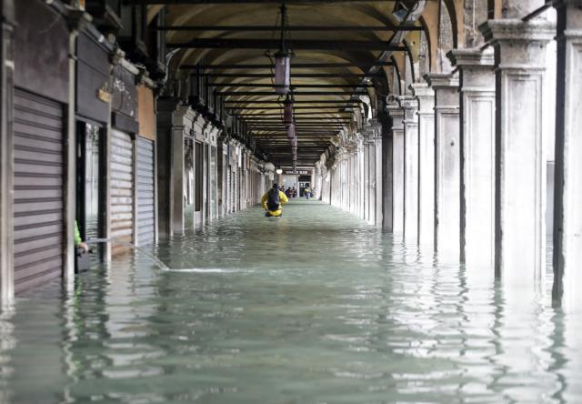 Venezia (AP Photo/Luca Bruno)