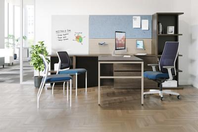 Workwall with 10500 Desk