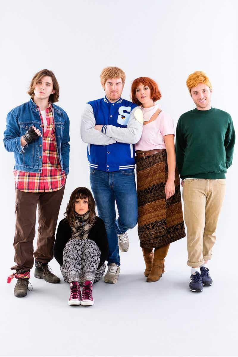 """<p>There's no more iconic '80s movie than <em>The Breakfast Club</em>, so gather your crew and dress up like everyone's favorite gang of high school misfits.</p><p><em><a href=""""https://www.brit.co/80s-halloween-costumes/"""" rel=""""nofollow noopener"""" target=""""_blank"""" data-ylk=""""slk:Get the tutorial at Brit + Co. »"""" class=""""link rapid-noclick-resp"""">Get the tutorial at Brit + Co. »</a></em></p><p><strong>RELATED:</strong> <a href=""""https://www.goodhousekeeping.com/holidays/halloween-ideas/g1422/group-halloween-costumes/"""" rel=""""nofollow noopener"""" target=""""_blank"""" data-ylk=""""slk:40+ Group Halloween Costumes That Are #SquadGoals"""" class=""""link rapid-noclick-resp"""">40+ Group Halloween Costumes That Are #SquadGoals</a><br></p>"""