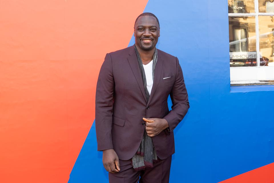 Adewale Akinnuoye-Agbaje attends a photocall for the UK Premiere of 'Farming' during the 73rd Edinburgh International Film Festival. (Photo by Roberto Ricciuti/Getty Images)