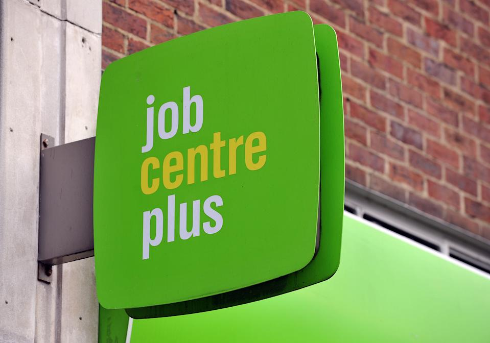 A Jobcentre Plus office in north west London. (Nick Ansell/PA Archive/PA Images)