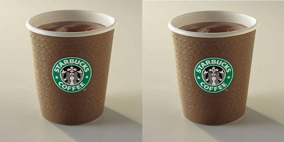 "<p>Released at the top of 2005, the Chantico was essentially a more chocolatey version of the company's hot chocolate beverage. Touted as a ""<a href=""https://money.cnn.com/2005/01/07/news/fortune500/starbucks_chantico/"" rel=""nofollow noopener"" target=""_blank"" data-ylk=""slk:drinkable dessert"" class=""link rapid-noclick-resp"">drinkable dessert</a>"" by CNN upon its release, the drink was also criticized for its high caloric count, which was 390 calories for a mere six ounces. What a time! </p>"