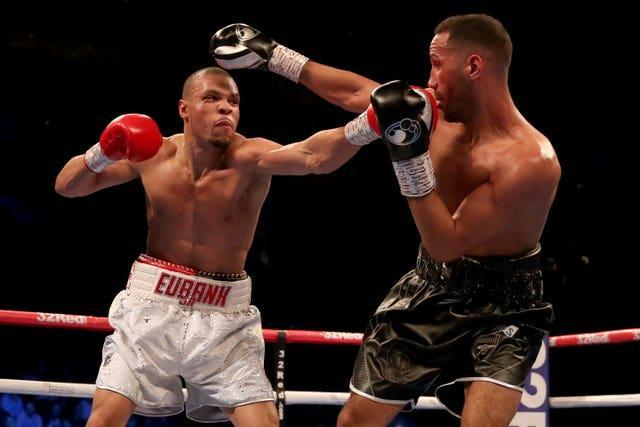 DeGale (right) retired after losing to Chris Eubank Jr (left)