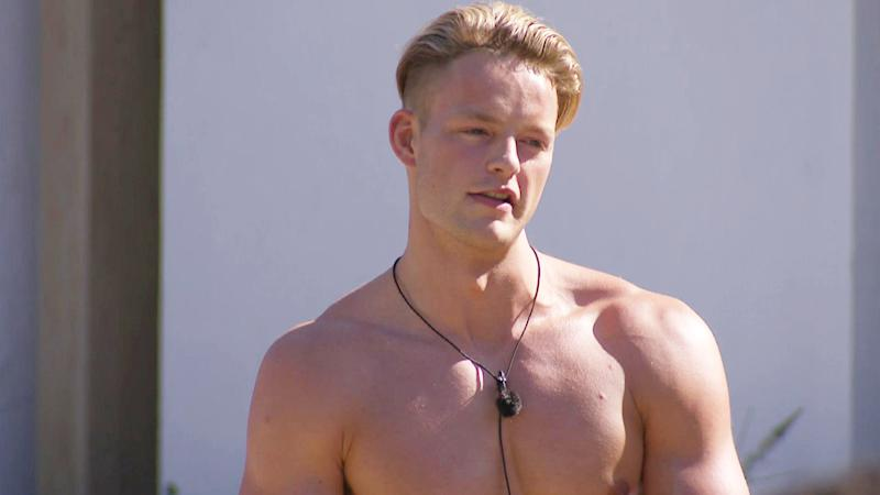 Love Island contestant Ollie Williams (Credit: ITV)