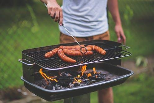 """<span class=""""caption"""">Online debates over the environmental impact of eating meat are getting heated.</span> <span class=""""attribution""""><a class=""""link rapid-noclick-resp"""" href=""""https://pixabay.com/photos/man-people-boy-grill-grilling-bbq-791505/"""" rel=""""nofollow noopener"""" target=""""_blank"""" data-ylk=""""slk:Kaboompics/Pixabay"""">Kaboompics/Pixabay</a></span>"""