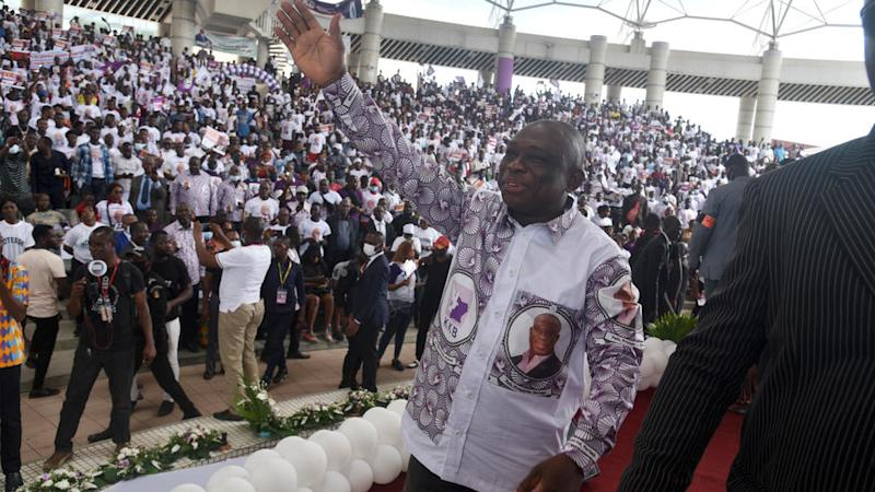 Ivorian independent candidate promises to be a president for peace
