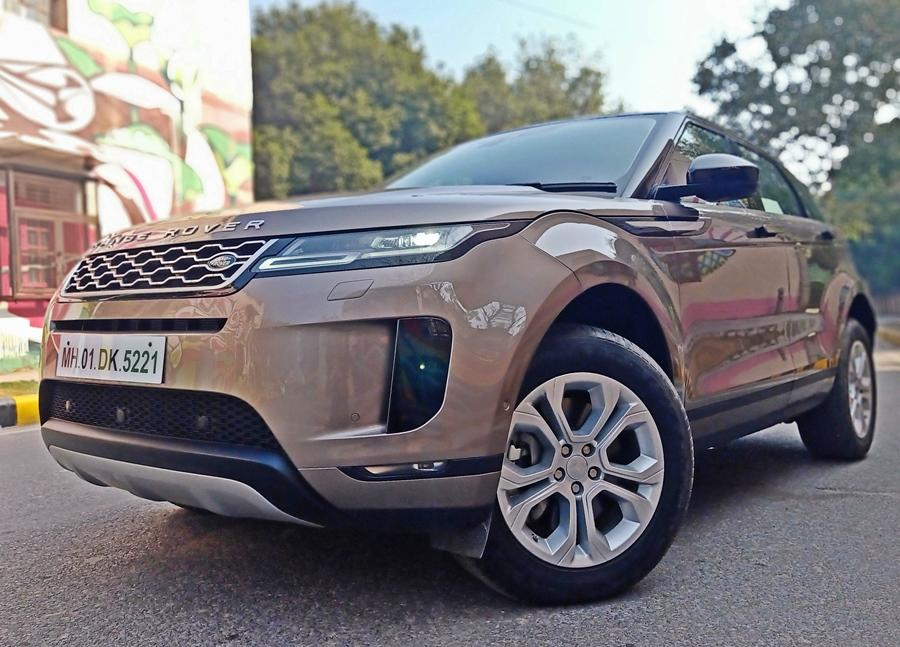 While the silhouette might be similar to the earlier Evoque, this one is actually all-new with a new platform, engines and interiors. As a result, the new car is slightly longer and wider and the wheelbase is accommodating too.