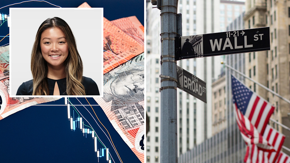 Here's how Katy Ting started investing in US shares. (Images: Supplied, Getty).
