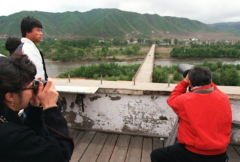 A UN report citing Pyongyang government data said 60 people had been killed and over 44,000 were homeless along the Tumen River, which partially marks the border with China and Russia (AFP Photo/Robyn Beck)