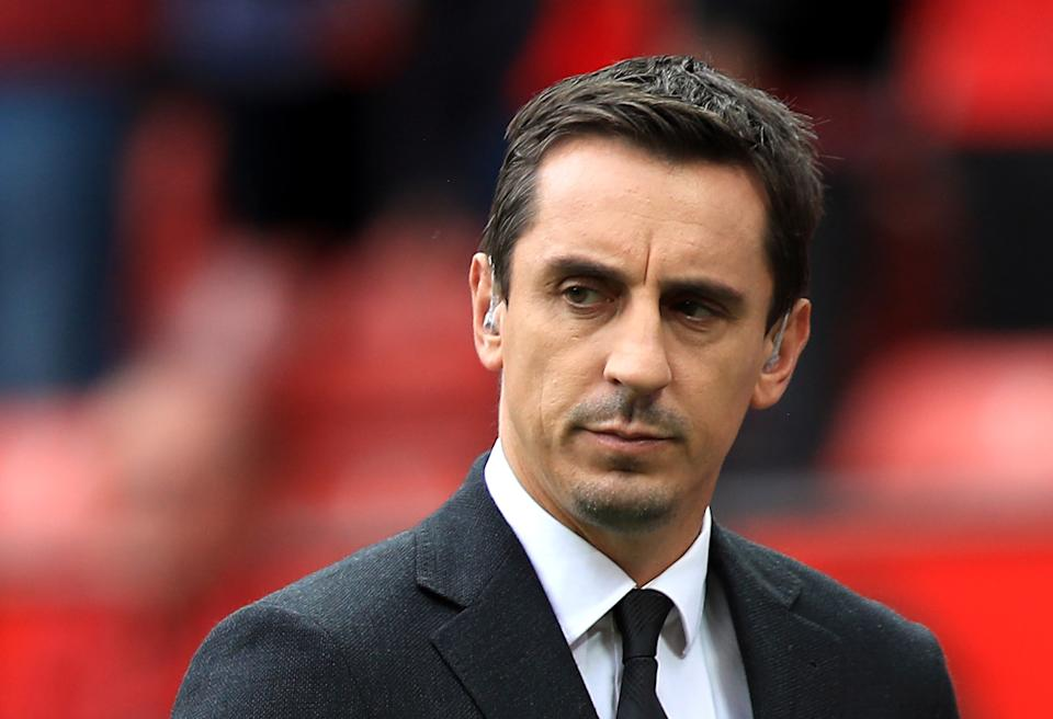File photo dated 22-11-2020 of File photo dated 24/9/2016 of ex-footballer Gary Neville is joining forces with local business leaders to encourage workers to return safely to Manchester city centre amid the Covid-19 pandemic. Issue date: Friday May 21, 2021.