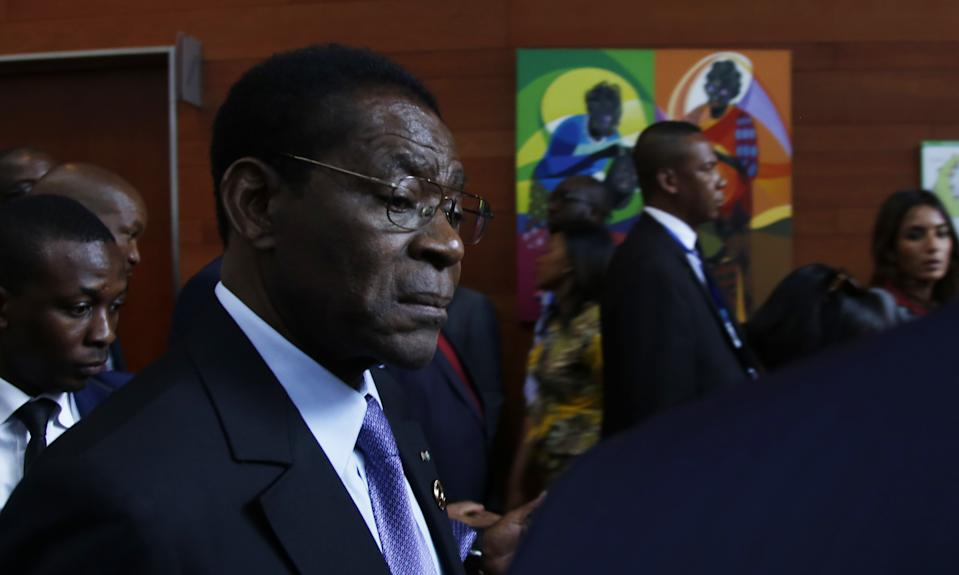 Teodoro Obiang, presidente de Guinea Ecuatorial. (Photo by Minasse Wondimu Hailu/Anadolu Agency via Getty Images)