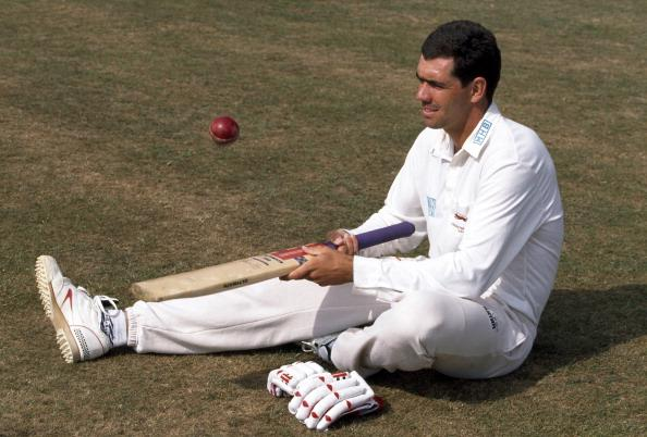Hansie Cronje of Leicestershire and South Africa, 1995.  (Photo by David Munden/Popperfoto/Getty Images)