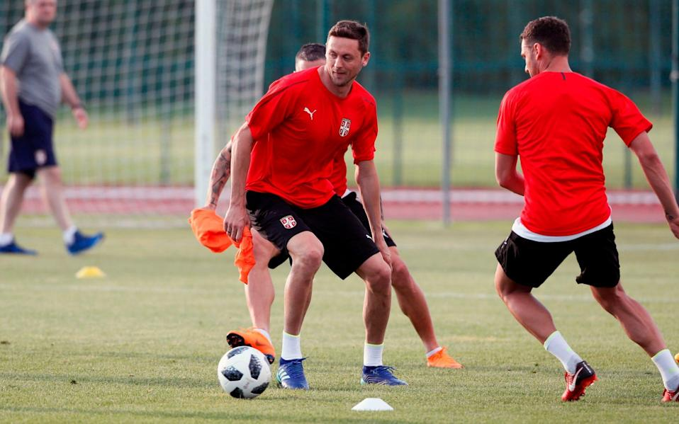 There are many familiar faces in the Serbia World Cup squad - AFP