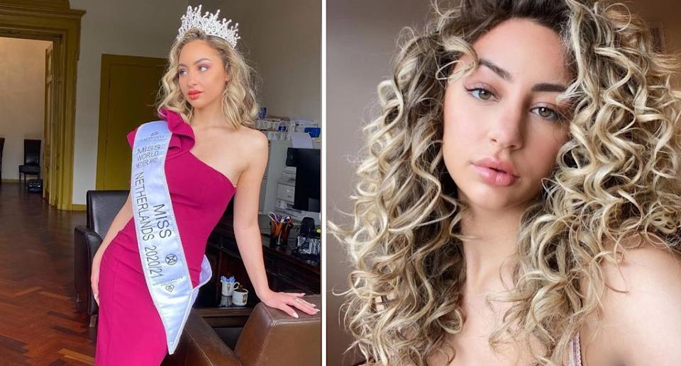 Dilay Willemstein will not attend the Miss World Pageant due to its vaccine requirements. Source: Newsflash/ Australscope