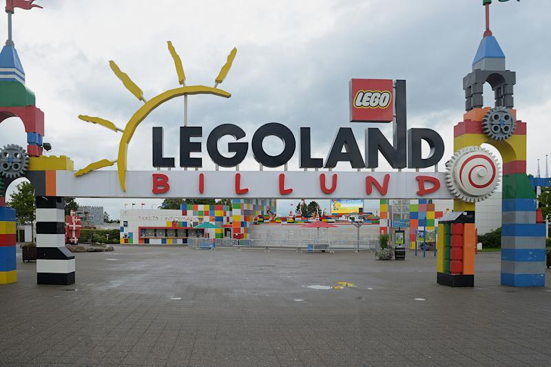 Le parc d'attractions Legoland à Billund, au Danemark