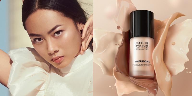 make up forever watertone foundation