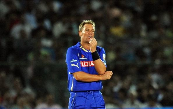 Shane Warne was one of the marquee players for the Rajasthan Royals