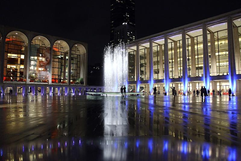 A general view of Lincoln Center for the Performing Arts in New York City (AFP Photo/Neilson Barnard)