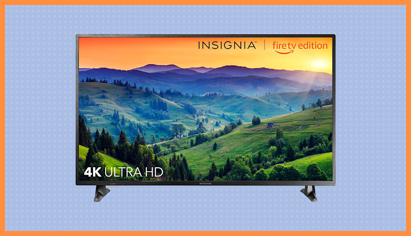 Save $80 on this Insignia 50-inch 4K TV—Fire TV Edition. (Photo: Amazon)