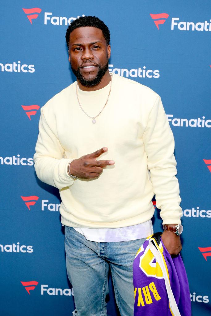Kevin Hart made his first appearance on  Red Table Talk. (Photo: Tasos Katopodis/Getty Images for Fanatics)
