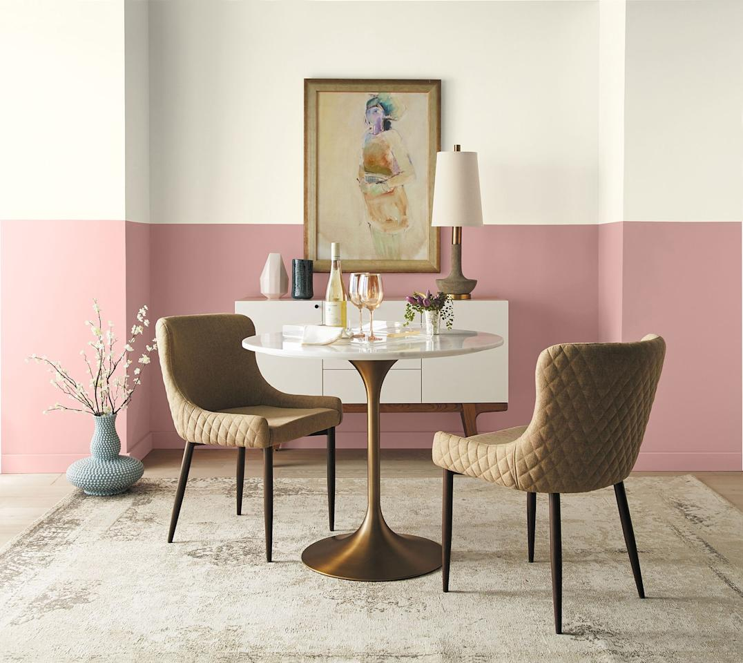 """<p>If you're a design buff, it's always a good day when a paint brand sheds light on <a href=""""https://www.elledecor.com/design-decorate/trends/g23550602/design-trends-2019/"""" target=""""_blank"""">trends</a>. Lucky for you, leading paint brand <a href=""""https://www.elledecor.com/design-decorate/color/a22804738/behr-color-of-the-year-2019/"""" target=""""_blank"""">Behr</a> just released its <a href=""""https://www.behr.com/consumer/inspiration/2020-color-trends/"""" target=""""_blank"""">2020 Color Trends Palette</a>. The collection of 15 gorgeous paint hues range from an earthy orange to an energetic green and are all versatile enough to work in both traditional and modern spaces. </p><p>According to Behr, the colors reflect consumers' longing for more well-rounded lives. """"2020 marks the start of a new decade, and with that comes a desire for balance—both at home and at work,"""" Erika Woelfel, vice president of color and creative services at Behr. """"These approachable and comfortable colors create a bridge between living and working spaces, with honest hues that homeowners and commercial designers alike will connect with. The new collection of 15 tending hues encompasses themes of wellness and wellbeing, connected experiences, inviting environments, and deliberate color stories.""""<br></p><p>Click through for a look at Behr's 15 top paint hues for the year ahead.  </p>"""