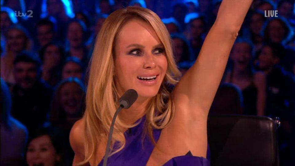 Amanda Holden swears again on Britain's Got More Talent (ITV)