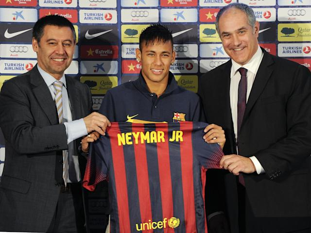 The total cost of the transfer was hidden by all parties involved: Getty