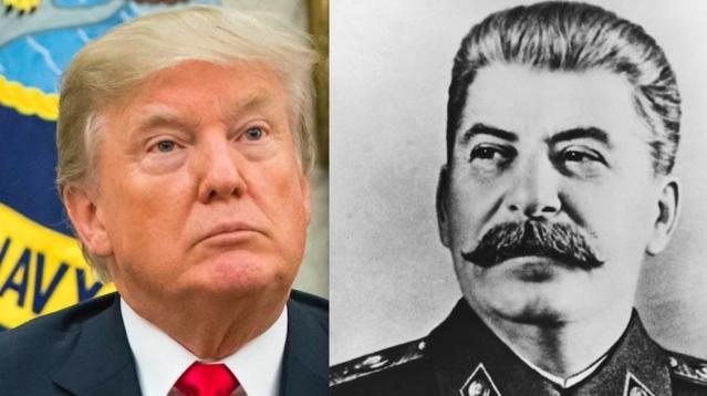 A descendant of former Soviet leader Nikita Khrushchev is calling out President Donald Trump over his latest attacks on the media.