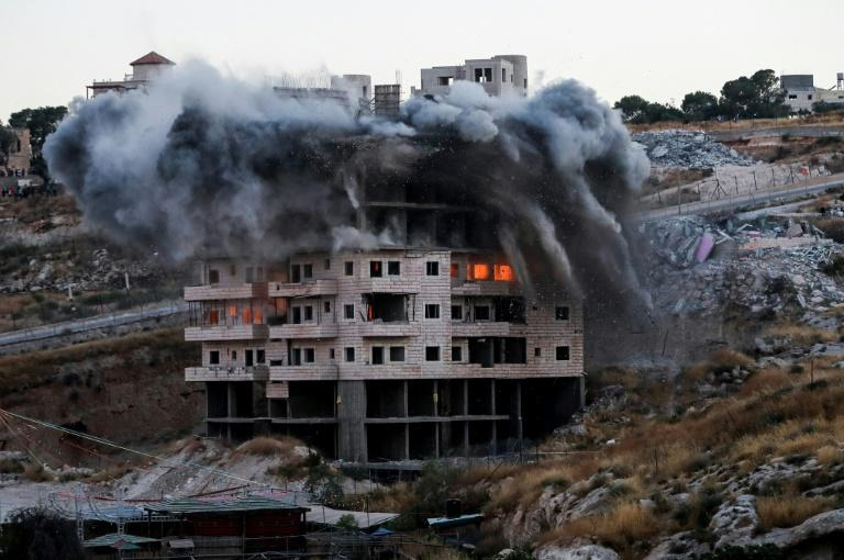 UN officials and the European Union condemned the demolitions and called for an immediate halt to the policy