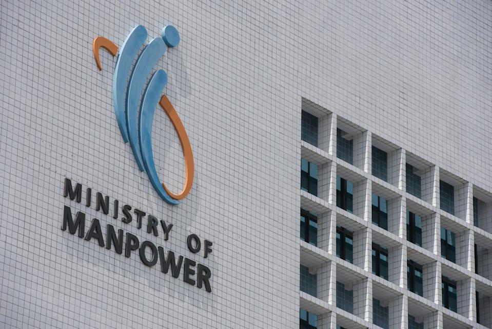 The Ministry of Manpower building. (Yahoo News Singapore file photo)